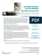 TransAmerica CI Advance Brochure