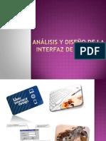 Análisis y Diseño de La Interfaz de Usuario