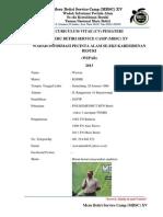 CV Pemateri, Biodata Panitia Dan Peserta MBSC
