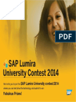 SAP lumira install guide
