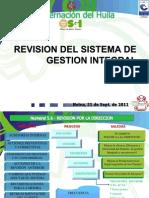 Presentacion Revision Sistema de Gestion 2011 Miriam Ajustada