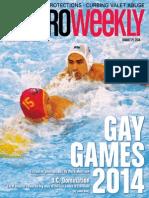 Metro Weekly - 08-21-14 - Gay Games