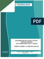 Roteiro Do Prisma - Perícia Médica e Serviço Social.