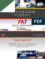 Acceleration14 Series FA1 Guide.