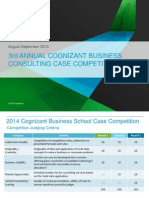 2014 CBC Case Competition - Team Registration and Round 1 Abstract Sampl...