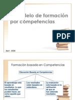 Formacion Por Competencias