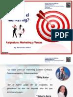 Marketing y Ventas - Clase 1