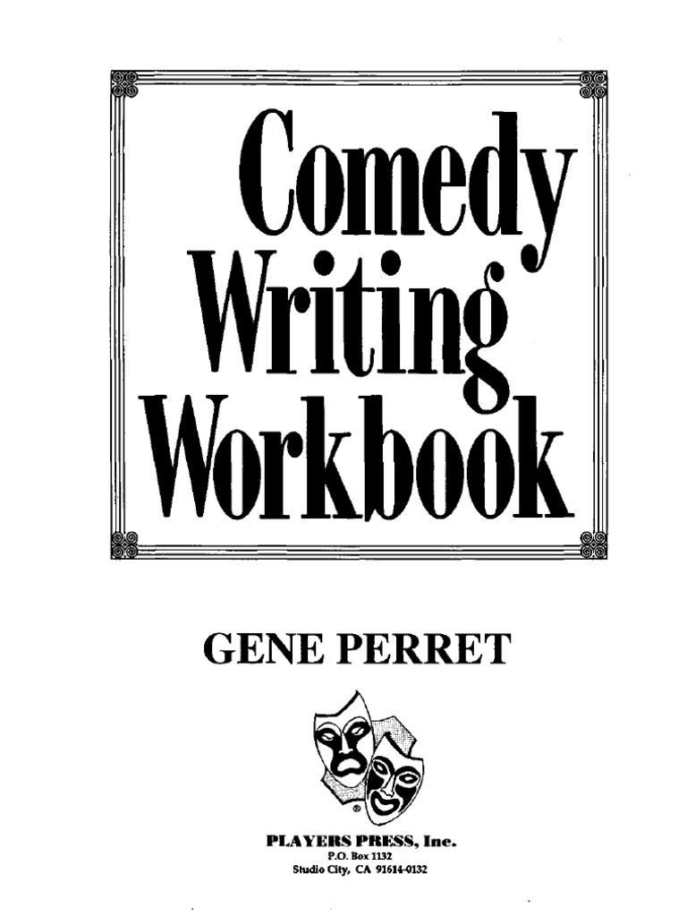 Comedy writing workbookpdf jokes sports fandeluxe Image collections