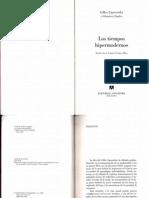 Los Tiempos Hipermodernos - Gilles Lipotevsky