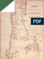MAPA DESIERTOS CHILENOS 1879