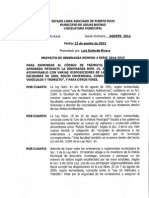 Proyecto Ordenanza Numero 4 Serie 2014-2015