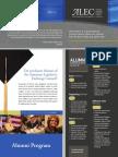 ALEC Alumni Program Brochure