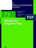 Metabolic Engineering T Scheper and Jens Nielsen