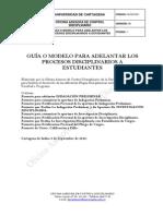 GI DO 001GuiaparaadelantaractuacionesDisciplinarias 1