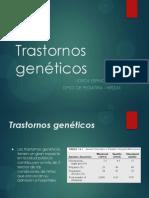 Transtornos geneticos