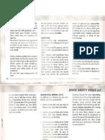Vespa ET2 Owners Manual