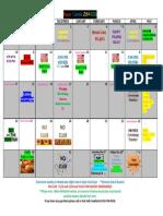 AWANA Calendar 2014-15