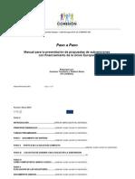 Graziano Tonellotto Roberto Bensi PASO a PASO Manual Para Formuladores de Subvenciones Marzo 2013