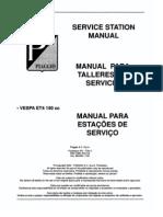 Vespa ET4 Workshop Manual