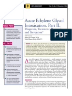 Acute Ethylene Glycol İntoxication.Part II.