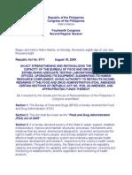 FDA Act of 2009