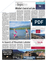 Finding Whistler's Soul at Lost Lake