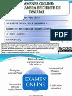 Presentacion Examenes Online Con Google Docs