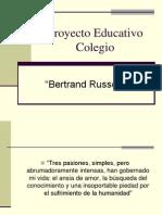 Proyecto Educativo Colegio