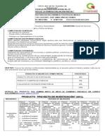 Rúbrica de Primer Parcial de Estructura Politica 2014 1 Turno Matutino