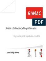 PICLima Analisis y Evaluacion de Riesgos Laborales