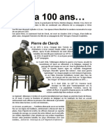 Pierre de Clerck 1914