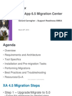 Migratingfromxenapp4 5and5toxenapp6 5usingxenappmigrationcenter 130321174919 Phpapp01