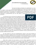 Fernandez Buey - Para Un Debate Sobre El Multiculturalismo
