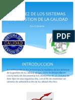 MADUREZ DE LOS SISTEMAS DE LA GESTION DE GESTION DE LA CALIDAD.pptx