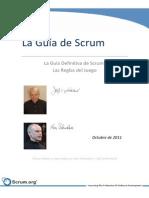 Scrum Guide Esp