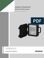 Manual Sitrans Fup1010