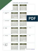 iceb calendar