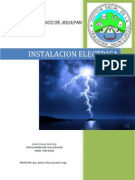 Instalacion Electrica Trabajo de Investigacion