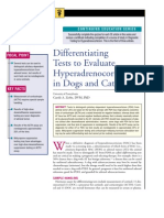 C+F-Differentiating Tests to Evaluate Hyperadrenocorticism in Dogs and Cats