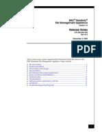 Docu9297 Rainfinity File Management Appliance Release Notes