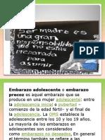 Embarazo en Adolescentes Presentacion (1) (1)