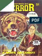 Mestres Do Terror Numero 51 Editora D-Arte