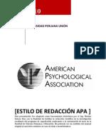 Modelo de Redaccion Apa