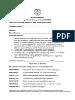 Assessment Tasks CHCICS301B Jan 13