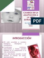 CAMBIOS EN LA ADAPTACIÓN A LA VIDA EXTRAUTERINA.ppt