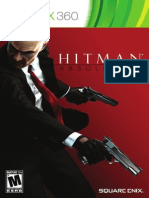 Hitman Absolution Xbox 360 Manual
