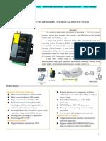 F7614 GPS+CDMA2000 1X EVDO IPMODEM