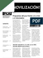 Boletín ¡Movilización! - Octubre 2009