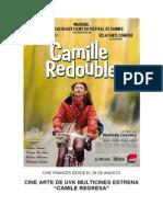 Camila Regresa - Cine Frances