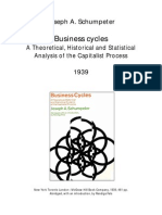 Joseph Schumpeter - Business Cycles
